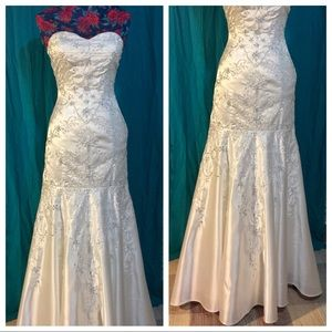 """Just say """"YES"""" to the dress! Custom repurposed!"""